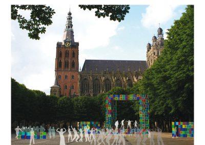 Samen Architectuur Maken Tijdelijke podia Den Bosch 03