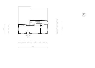 004_Samen Architectuur Maken met_Bram en Wendy_Ellecom_begane grond_bestaand