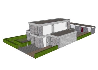 006_Samen Architectuur Maken met_Gerke en Janny_Ede_Park Reehorst_Situatie